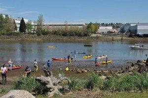 Kayaks and SK boat