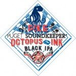 Pike Brewing Co. Octopus Ink Black IPA